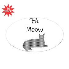 Be Meow Be Mine Funny Cat Decal