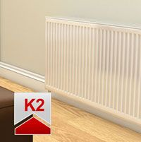 Stelrad Compact Radiator 700mm High x 400mm Wide (Double Convector)
