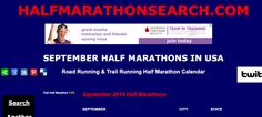 2014 SEPTEMBER Half Marathon Calendar - Search by Month Page - UPDATED! All the slowpoke events with no date set yet are in red ;)  www.halfmarathonclub.com/september-half-marathons.html  #halfmarathon #halfmarathons #running #events #halfmarathons2014
