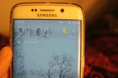 Love my phone #Samsung #GalaxyS6edge #bedroom #winter #21Uhr4
