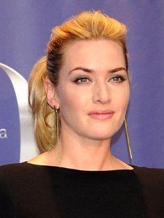 Kate Winslet teased roots ponytail  | allure.com