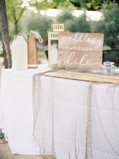 Nautical decor: http://www.stylemepretty.com/2015/02/24/pink-clos-lachance-winery-wedding/ | Photography: Coco Tran - http://www.cocotran.com/