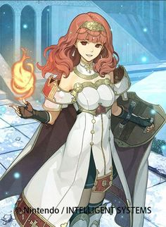Fire Emblem Echoes: Celica as a Princess by Hidari