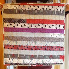 Small quilt (back) for Project Linus, March 2017