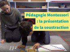 Vidéo : faire des soustractions en utilisant le tableau de mémorisation de la soustraction et en manipulant les barrettes de perles de la pédagogie Montessori