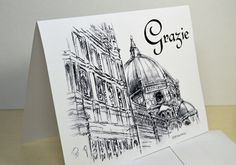 Hey, I found this really awesome Etsy listing at https://www.etsy.com/listing/224237185/grazie-florentine-duomo-italian-thank