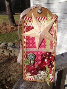 A Christmas tag