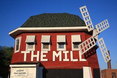 """Route 66 - The Mill Restaurant, Lincoln, Illinois. """"The Fine Art Photography of Frank Romeo."""""""