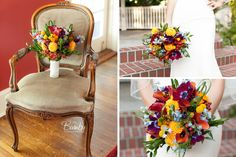 Bumby Photography | Fall Wedding Bouquet by Lee Forrest Designs