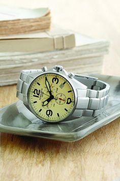 Torgoen Swiss Watch on a tray  Photo by http://www.personalcreations.com/ #swiss #watch #watches #time #photography