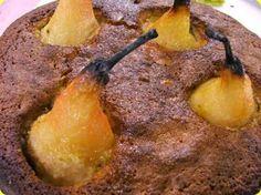 Torta di pere e vaniglia, dolce ideale per la colazione ma non solo.