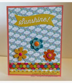 ~ Marilyn's Crafts ~: SBC March 2015 Card Kit