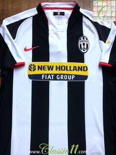 Relive Juventus' 2007/2008 season with this vintage Nike home football shirt.