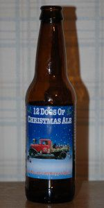 A holdover from the Christmas season, and one of the best winter seasonals out there. Delicious spiced flavor.