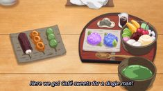 Yotsuiro Biyori - Come for the Tea, Stay for Everything Else - I drink and watch anime Cartoon Recipe, Anime Screenshots, Food Illustrations, Taste Buds, Japanese Food, Bento, Food Art, Everything, Sweets