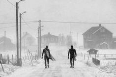 Photographer: Chris Burkard Athlete: Keith Malloy, Dane Gudauskas Location: Unstad, Lofoten Islands, Norway