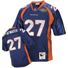 Mitchell and Ness Steve Atwater jersey-80%OFF Mitchell and Ness Steve Atwater Authentic Jersey at Broncos Shop. (Authentic Mitchell and Ness Men's Steve Atwater Navy Blue Super Bowl Jersey) Denver Broncos Alternate #27 NFL Throwback Easy Returns.