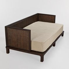 One of my favorite discoveries at WorldMarket.com: Burlap Daybed Twin Mattress Cover