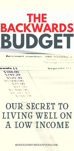 Opposite of Living Beyond Your Means Exactly how we travel, save money and own our own home as a one (low) income family. The BEST way to budget!Exactly how we travel, save money and own our own home as a one (low) income family. The BEST way to budget! Ways To Save Money, Money Tips, How To Make Money, Money Budget, Easy Earn Money, Money Hacks, Planning Budget, Budget Planner, Budget Binder