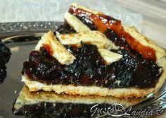Tarta cu prune uscate (de post) Pancakes, Breakfast, Food, Pie, Morning Coffee, Essen, Pancake, Meals, Yemek