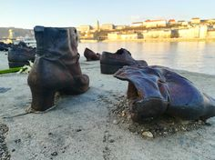 Shoes on the danube bank, Budapeste, Hungria