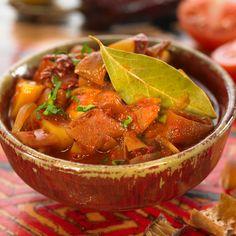 Colombo de thon rouge aux courgettes et à la tomate