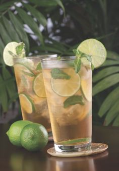 Mojita Rita   Ingredients:  Small bunch fresh mint leaves  2 parts fresh lime juice  1 part Tres Agaves Agave Nectar  1 part Tres Agaves Blanco Tequila  1/2 part orange liqueur  Fresh mint and lime for garnish