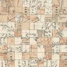 Liz Yarosz-Ash Yantra #4.  Cut-paper collage composed from vintage and antique ephemera.
