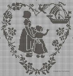 Gallery.ru / Фото #110 - Crochet Filet pour Point de Croix 1 - Mongia