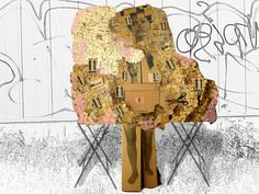 Out of the Box. sculpture from cardboard boxes. Ines Seidel