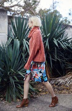 8d188e4820 Gorman Online :: MEGAN GRANT + GORMAN Polo Jumper, Flower Skirt, Moma,
