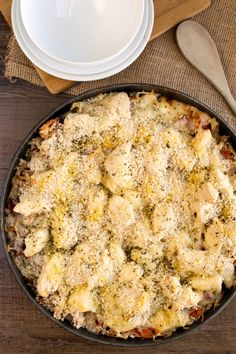 One-Skillet Chicken Parmesan