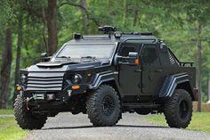 Terradyne Gurkha CIV Armored Vehicle - Dr Wong - Emporium of Tings. Snow Vehicles, Star Wars Vehicles, Rescue Vehicles, Army Vehicles, Armored Vehicles, Lego Vehicles, Lifted Ford Trucks, 4x4 Trucks, Armored Truck