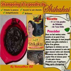 Shampooing à la poudre de shikakai