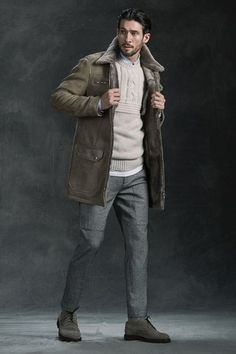 See the complete Brunello Cucinelli Fall 2016 Menswear collection.