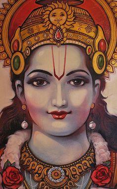Ganesha Painting, Lord Shiva Painting, Tanjore Painting, Ganesha Art, Radha Krishna Pictures, Lord Krishna Images, Señor Krishna, Hanuman, Lord Rama Images