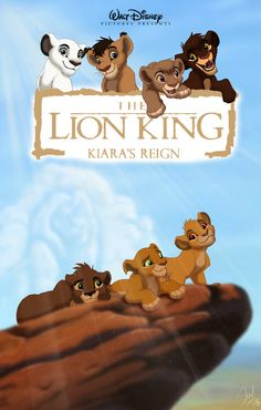 The Lion King - Kiara's Reign poster (redone) by ~TheCartooner1996 on deviantART