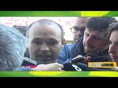 Andres Iniesta  sobre la muerte de Johan Cruyff