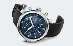 """IWC Schaffhausen   Fine Timepieces From Switzerland   Collection   Aquatimer Family   Aquatimer Chronograph Edition """"Expedition Jacques-Yves Cousteau"""""""