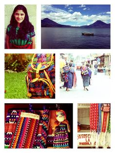 A photo depicting everything that Hiptipico represents!   #fashion #Guatemala #giveback #mayan #culture #tribalbackpack #lakeatitlan #artisans #ethicalfashion #colorful