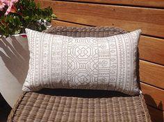 Outdoor Cushions Tribal Outdoor Pillow Ecru, Navy Outdoor Natural Outdoor, Navy, Black, Turquoise Coral Outdoor Cushion Cover, Pillows