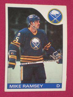 1985-86 #77 Mike Ramsey, O-Pee-Chee OPC, Buffalo Sabres NHL Hockey Card (A) | eBay Hockey Cards, Baseball Cards, Hockey Rules, Buffalo Sabres, Nhl, Canada, Sports, Ebay, Hs Sports