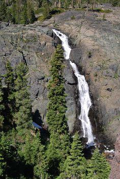 Fraiser Falls. Near Blairsden, California. July 2010