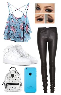 Cute !! by claudiadarcy101 on Polyvore featuring polyvore, fashion, style, Helmut Lang, NIKE and MCM. I hope you like the set ! Follow and like to see more !   Instagram : _polyvore_fashionista101_ Polyvore : claudiadarcy101