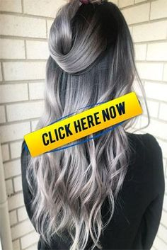 10 Grey Ombre Hair Ideas To Rock This Year 2019 The iconic gray shade will be a Hairdos For Short Hair, Summer Hairstyles, Short Hair Styles, Eyelashes, Eyebrows, Grey Ombre Hair, Uggs For Cheap, Brows On Fleek, Winged Eyeliner