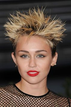 Miley Cyrus voted worst celebrity hair whist Nicole Scherzinger's got the leading locks photo-pin it from carden