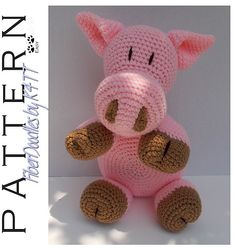 Ravelry: OTHR - Pillow Pal Piggy pattern by K4TT