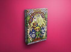 Legend of Zelda Painting Hanging Canvas Prints