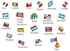Resultado de imagem para bandeiras da america latina