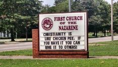 Church Signs of the Week: August 7, 2015   The Exchange   A Blog by Ed Stetzer